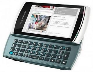 Il nuovo Sony Ericsson Vivaz Pro