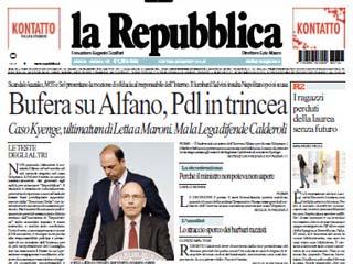 giornalismo-italiano-Saviano-la-Repubblica-Bufera su Alfano