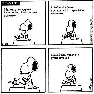 snoopy-scrittore-successo