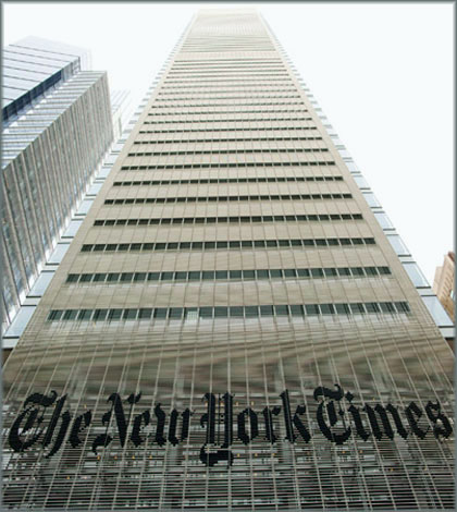 The New-York-Times-sede
