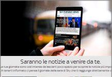 Sky Evening News