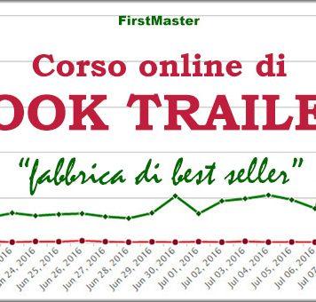 corso online book trailer